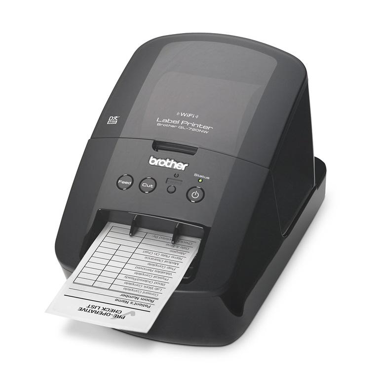 Brother QL-720NW Direct Thermal Printer Desktop Monochrome Label Print